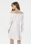 Biała Sukienka Morea
