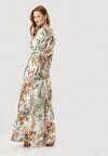 Biała Sukienka Midelia