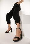 Czarne Sandały Doreassa