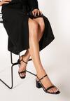 Czarne Sandały Lephice