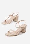 Beżowe Sandały Lephice