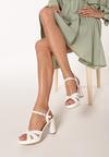 Białe Sandały Dopiara