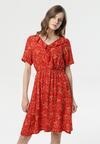 Czerwona Sukienka Nereily