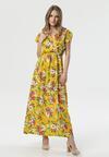 Żółta Sukienka Dalilura