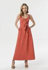 Łososiowa Sukienka Hilaira