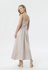 Beżowa Sukienka Hilaira