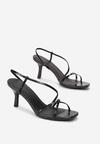 Czarne Sandały Galaxaura