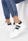 Biało-Czarne Sneakersy Aranorin