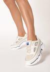 Beżowe Sneakersy Olaurae