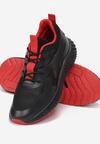 Czarno-Czerwone Buty Sportowe Last Power