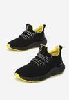 Czarno-Żółte Buty Sportowe Broken Show