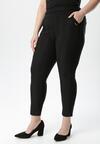 Czarne Spodnie Jegginsy Sleep Secrets