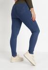Niebieskie Spodnie Jegginsy Sweet Show