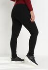 Czarne Spodnie Jegginsy Sweet Show