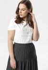 Biały T-shirt Melara
