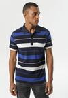 Granatowo-Niebieska Koszulka Ahanti