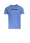 Niebieska Koszulka Scalzitti