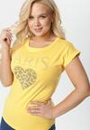 Żółty T-shirt Raine