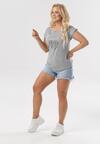 Szary T-shirt Raine