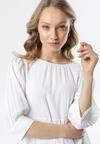 Biała Sukienka Lenzee