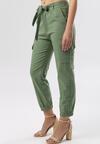 Zielone Spodnie Cargo Nysadella