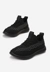 Czarne Buty Sportowe Arieciane
