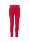 Czerwone Spodnie Jegginsy Ianathe