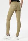 Musztardowe Spodnie Poreinia