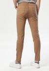 Ciemnobeżowe Spodnie Anagune
