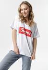 Biały T-shirt Iaoliphis