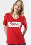 Czerwony T-shirt Iaoliphis