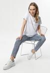 Biały T-shirt Pisimoni