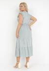 Miętowa Sukienka Echolyn