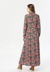 Granatowa Sukienka Phioles
