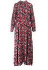 Czarno-Czerwona Sukienka Phioles
