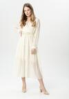 Kremowa Sukienka Stacy