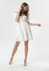 Biała Sukienka Evenhall