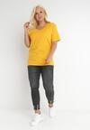 Żółty T-shirt Genilin