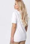 Biały T-shirt Genilin