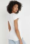 Biały T-shirt Gathanthei