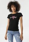 Czarny T-shirt Nyshophia