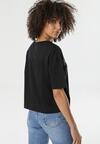 Czarny T-shirt Anthiphoia