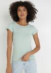Miętowy T-shirt Gathanthei
