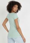 Miętowy T-shirt Nysalphia