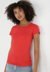 Czerwony T-shirt Nysalphia