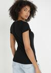 Czarny T-shirt Nysalphia