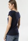 Granatowy T-shirt Antheosis