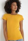 Żółty T-shirt Gathanthei