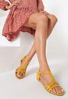 Żółte Sandały Aelila