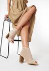 Beżowe Sandały Neameles